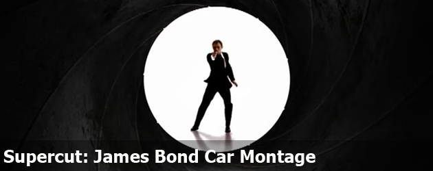 Supercut: James Bond Car Montage