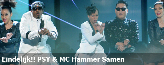 Eindelijk!! PSY &amp; MC Hammer Samen