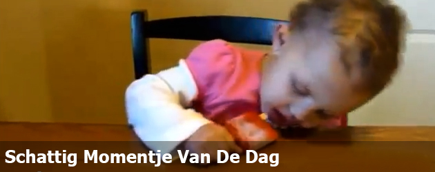 Schattig Momentje Van De Dag; een compilatie van zwaar vermoeide babies