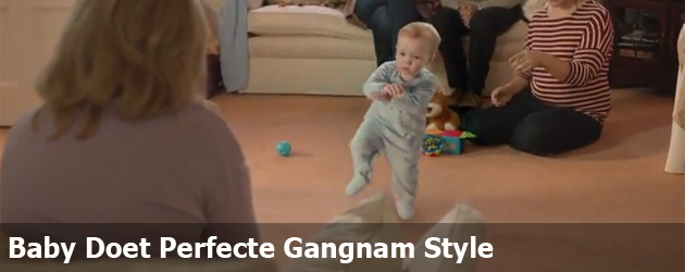 Baby Doet Perfecte Gangnam Style