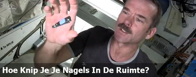 Hoe Knip Je Je Nagels In De Ruimte?