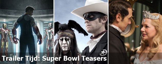 Trailer Tijd: Super Bowl Teasers