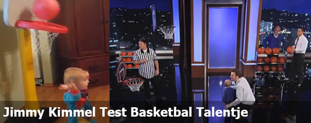 Jimmy Kimmel Test Basketbal Talentje