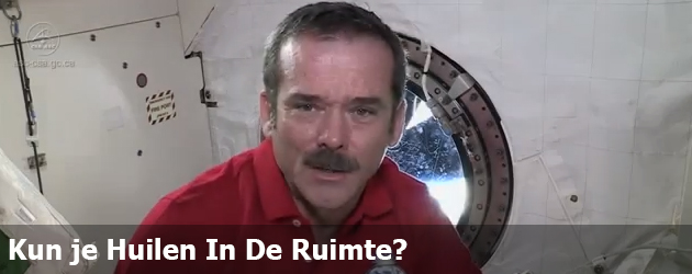 Kun je Huilen In De Ruimte? 