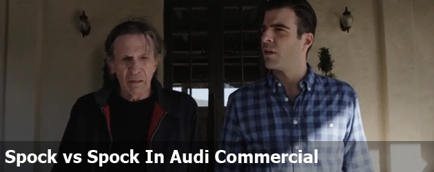Spock vs Spock In Audi Commercial