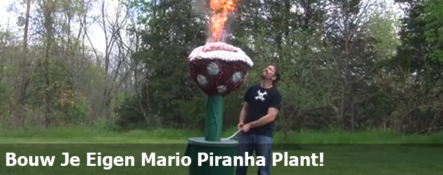 Bouw Je Eigen Mario Piranha Plant!