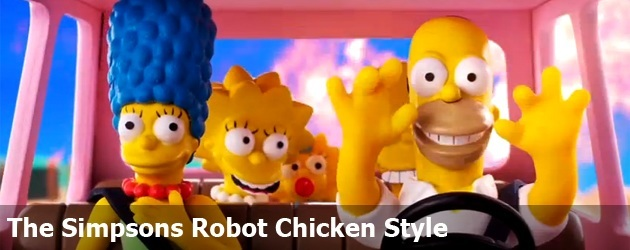 The Simpsons Robot Chicken Style