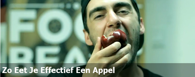 Zo Eet Je Effectief Een Appel