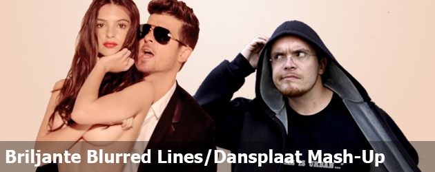 Briljante Blurred Lines Dansplaat Mash-up