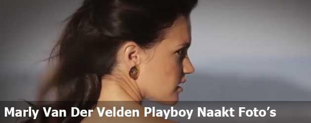 Marly Van Der Velden Playboy Naakt Foto