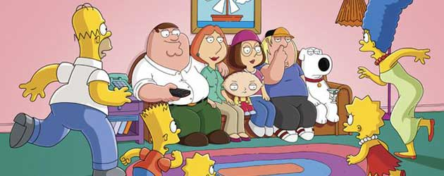The Simpsons/Family Guy Cross-Over Teaser