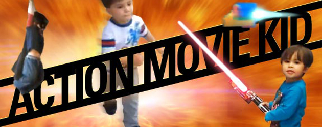 Action Movie Kid Is Terug!!!