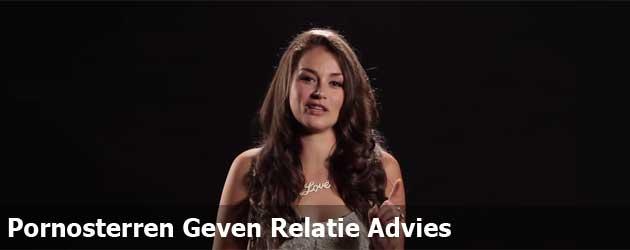 Pornosterren Geven Relatie Advies