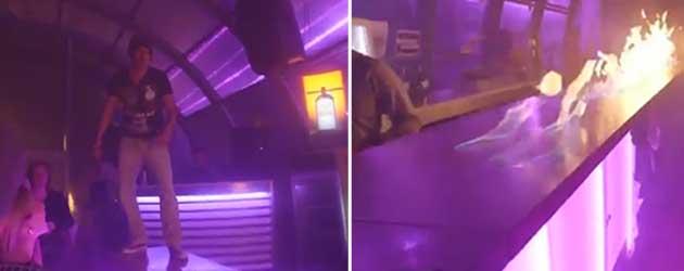 Slechtste Bar Truc Ooit Loopt Verkeerd Af