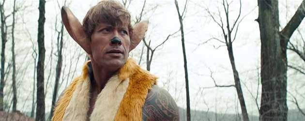 "Dwayne ""The Rock"" Johnson Als Bambi"