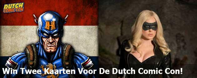 Win Twee Kaarten Voor De Dutch Comic Con!