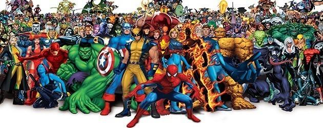 Alle Marvel Personages In 1 Filmpje
