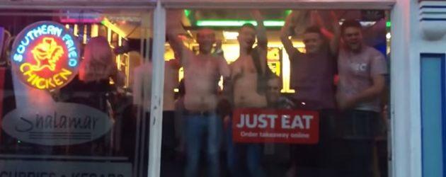 PrutsFM.nl Wat te doen als er in de late uurtjes geen tent meer op is om het feestje voort te zetten? In het Britse Wakefield hebben ze daar een oplossing voor gevonden. Na een wilde nacht in de Havana bar, wordt er keihard door gefeest in de plaatselijke kebab zaak.