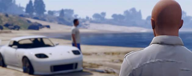 GTA 5 Fast And Furious Paul Walker Tribute