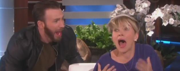Scarlett Johansson Doodsbang Van Chris Evans