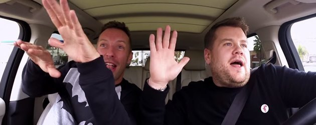 Carpool Karaoke Met Coldplay's Chris Martin!