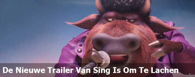 De Nieuwe Trailer Van Sing Is Om Te Lachen