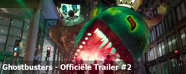Ghostbusters Officiële Trailer #2