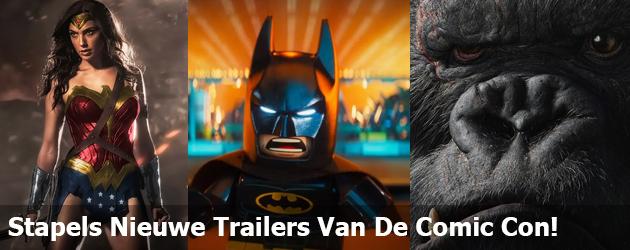 Alle nieuwe trailers van de Comic Con keurig op een rijtje