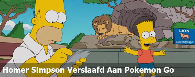 Homer simpson verslaafd aan pokemon go prutsfm - Homer simpson nu ...