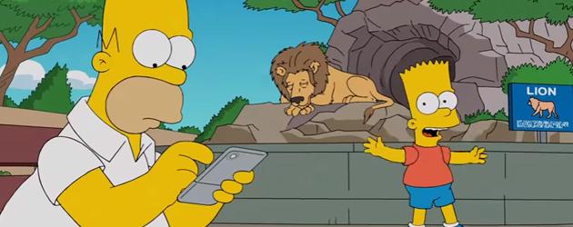 Homer Simpson Verslaafd Aan Pokemon Go