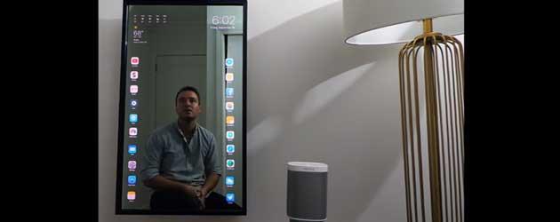 Gast Bouwt Een Apple Touchscreen Spiegel
