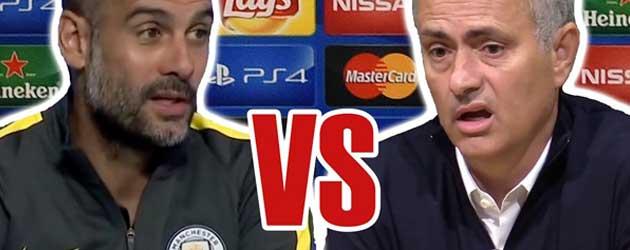 Rap Battle Pep Guardiola Jose Mourinho video filmpje