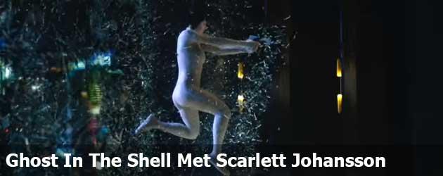 Eerste Trailer Ghost in the Shell met Scarlett Johansson als blote robot