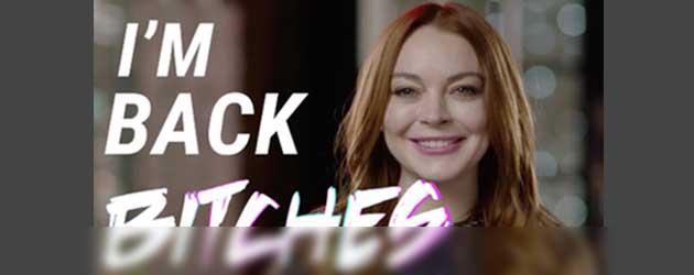 Geniet van de bizarre trailer van de Lindsay Lohans nieuwe tv-Show
