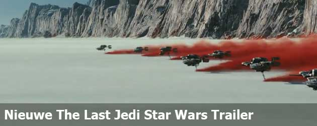 De The Last Jedi Star Wars Trailer