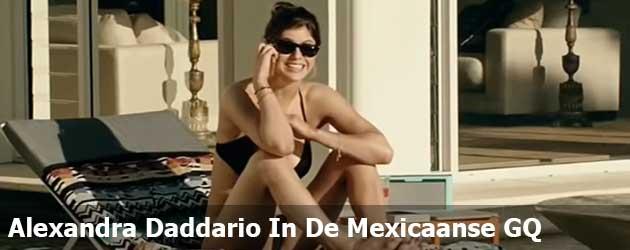 Alexandra Daddario In De Mexicaanse GQ