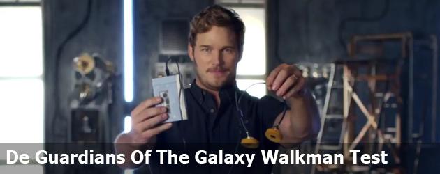 De Guardians Of The Galaxy Walkman Test