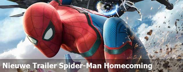 Nieuwe Trailer Spider-Man Homecoming
