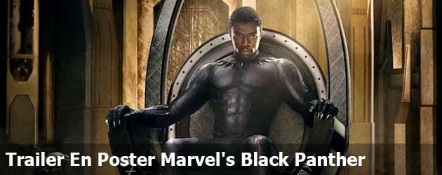 Trailer En Poster Marvel's Black Panther