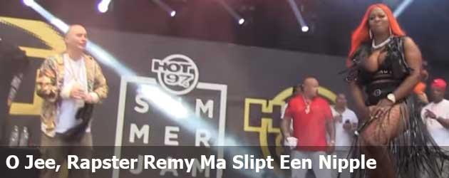 O Jee, Rapster Remy Ma Slipt Een Nipple