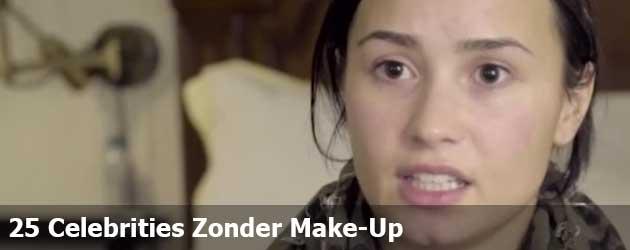 25 Celebrities Zonder Make-Up