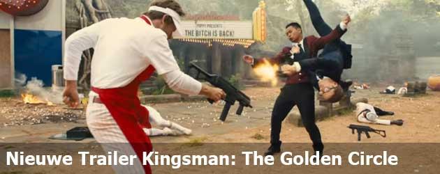 Nieuwe Trailer Kingsman: The Golden Circle
