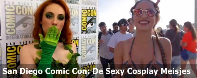 De Sexy Cosplay Meisjes Van De San Diego Comic Con