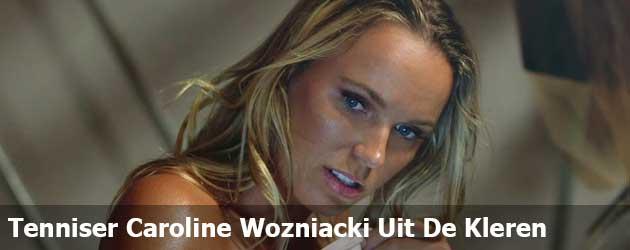 Tenniser Caroline Wozniacki Uit de kleren voor ESPN