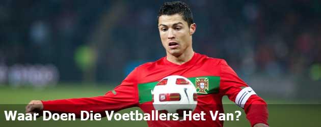 Waar Doen Die Voetballers Het Van?
