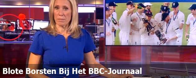 Blote Borsten Bij Het BBC-Journaal