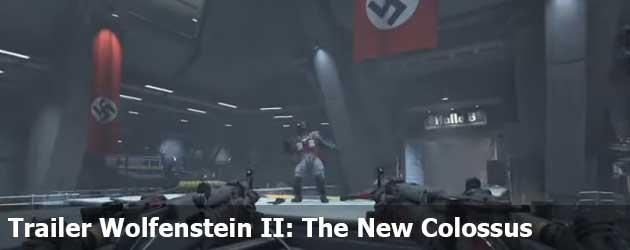 Nieuwe Trailer Wolfenstein II: The New Colossus