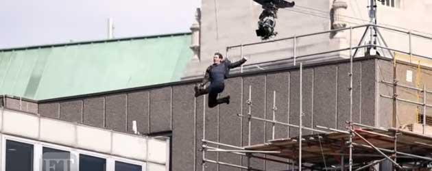 Stunt Tom Cruise Gaat Helemaal Mis