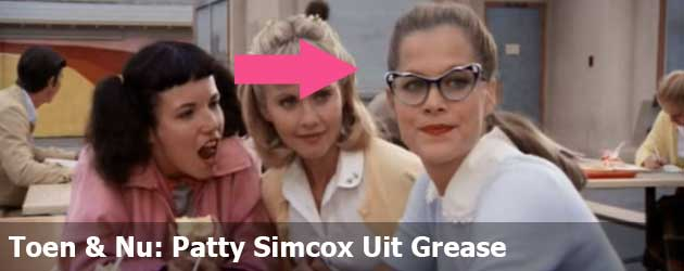 Toen & Nu: Patty Simcox Uit Grease