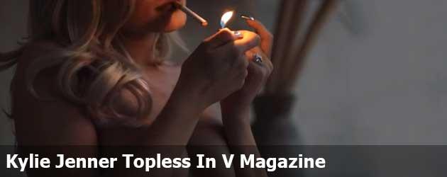 Kylie Jenner Topless In V Magazine